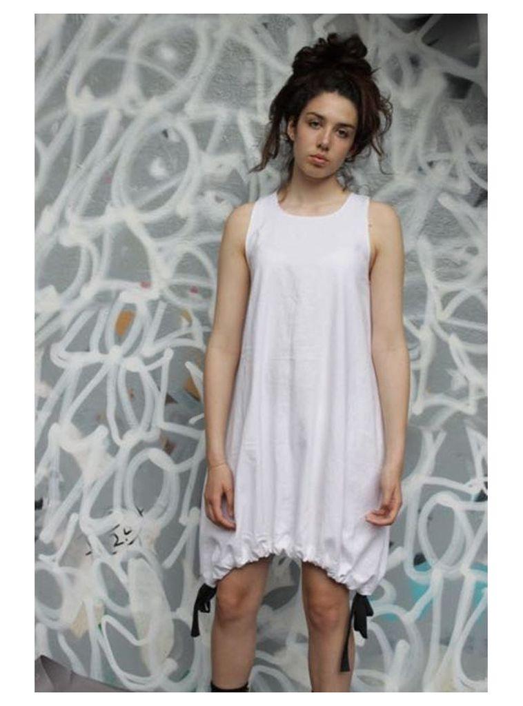 Parachute white mini dress - S,M,L.