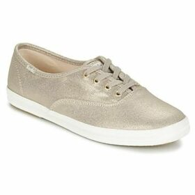 Keds  CH METALLIC CANVAS  women's Shoes (Trainers) in Gold