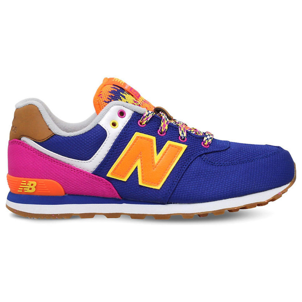 NEW BALANCE Brisbane suede trainers 9-11 years, Women's, Size: EUR 38 / 5 UK Adult, Blue Other