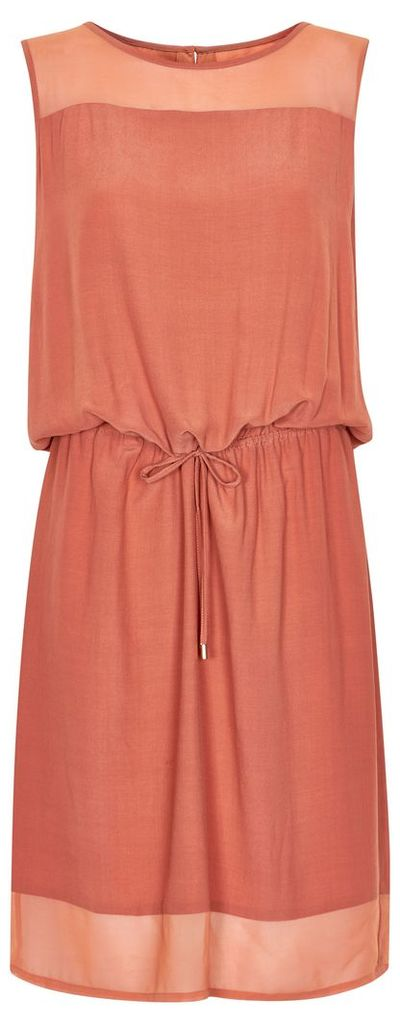 Soaked in Luxury Dress With Drawstring Waist, Pink