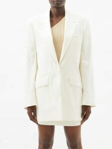 Bella Freud - Je T'aime Jane Merino-wool Sweater - Womens - Black