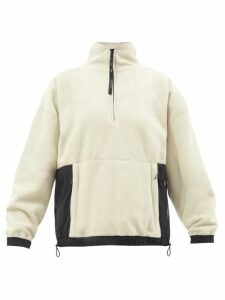 Raey - V-neck Fine-knit Cashmere Sweater - Womens - Black