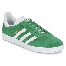 adidas  GAZELLE  women's Shoes (Trainers) in Green