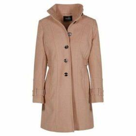 Anastasia  - Women`s Winter Military Style Coat  women's Coat in Beige