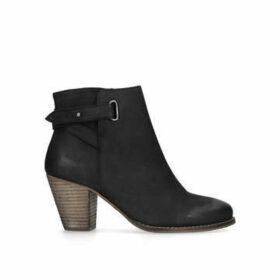 Carvela Smart - Black Block Heel Ankle Boots