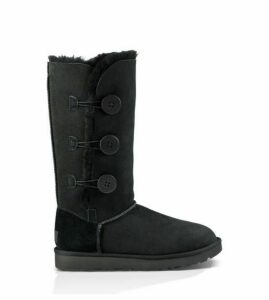 UGG Bailey Button Triplet Ii Boot Womens Boots Black 7