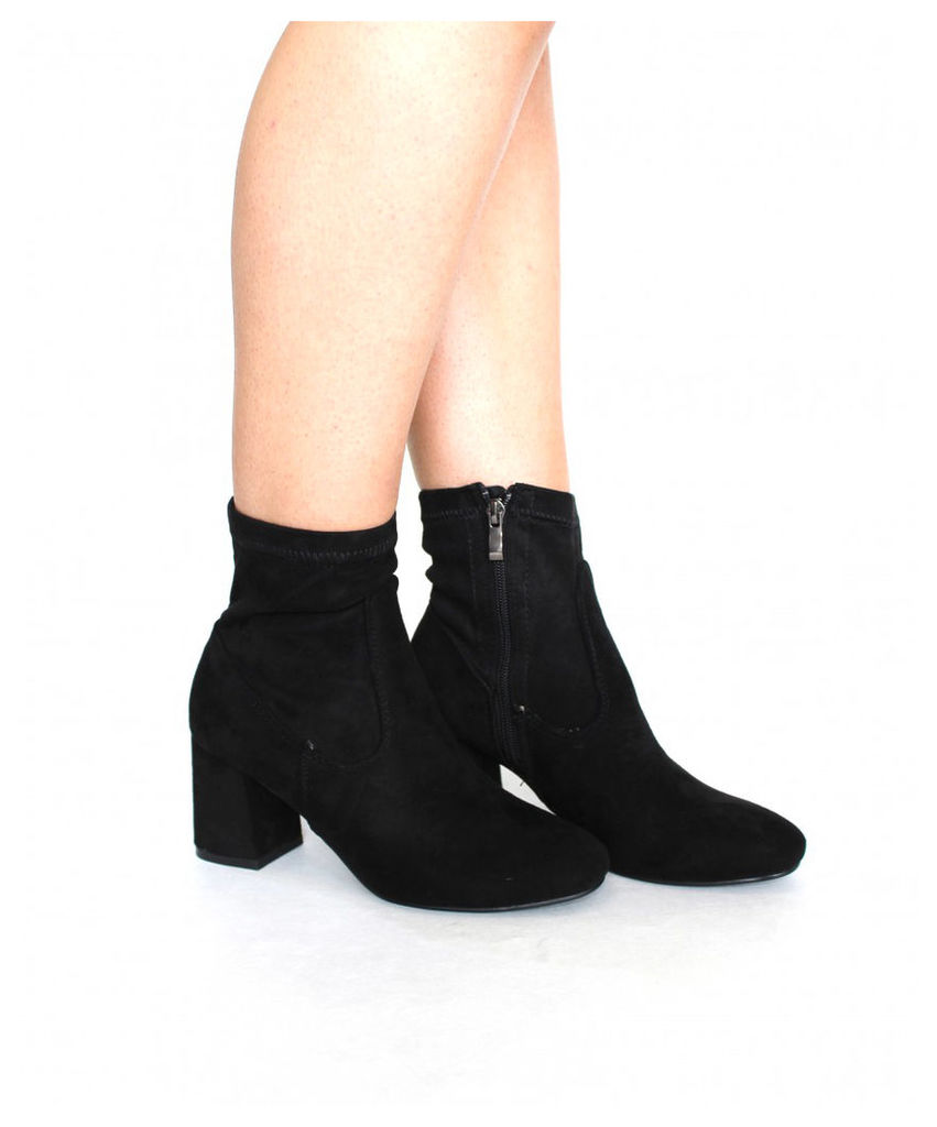 AX Paris Suede Heeled boots