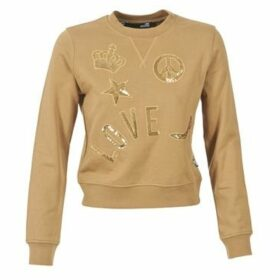 Love Moschino  ATUEL  women's Sweatshirt in Brown