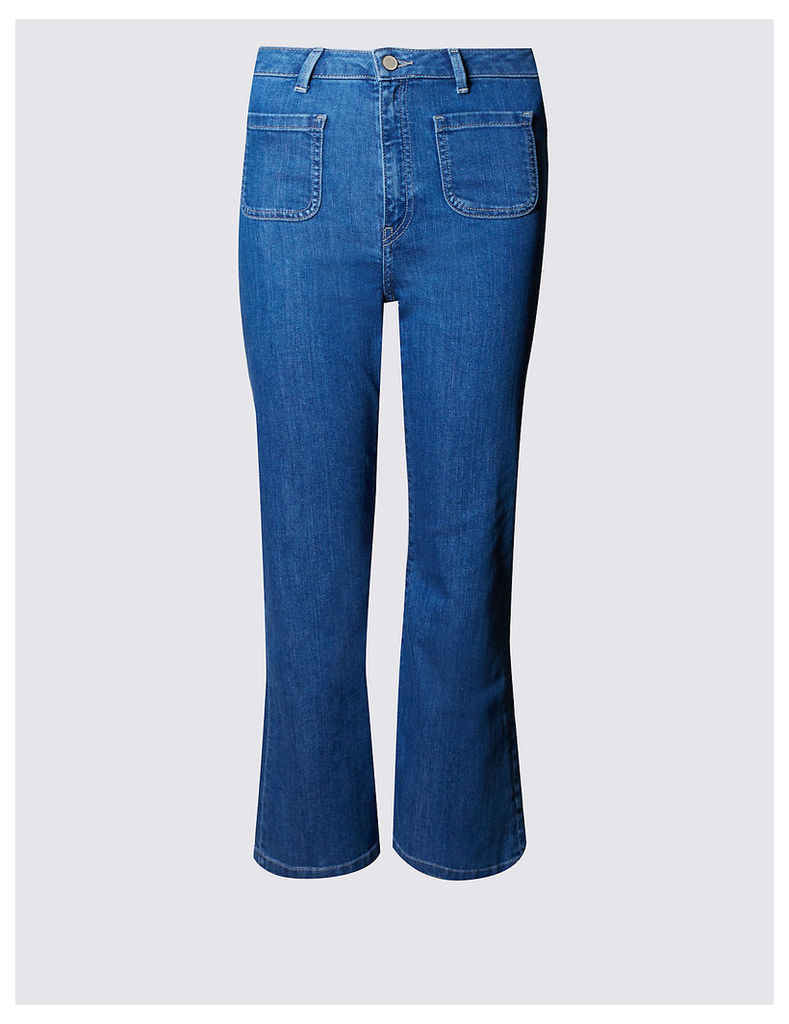 Limited Edition Cropped Flare Jeans
