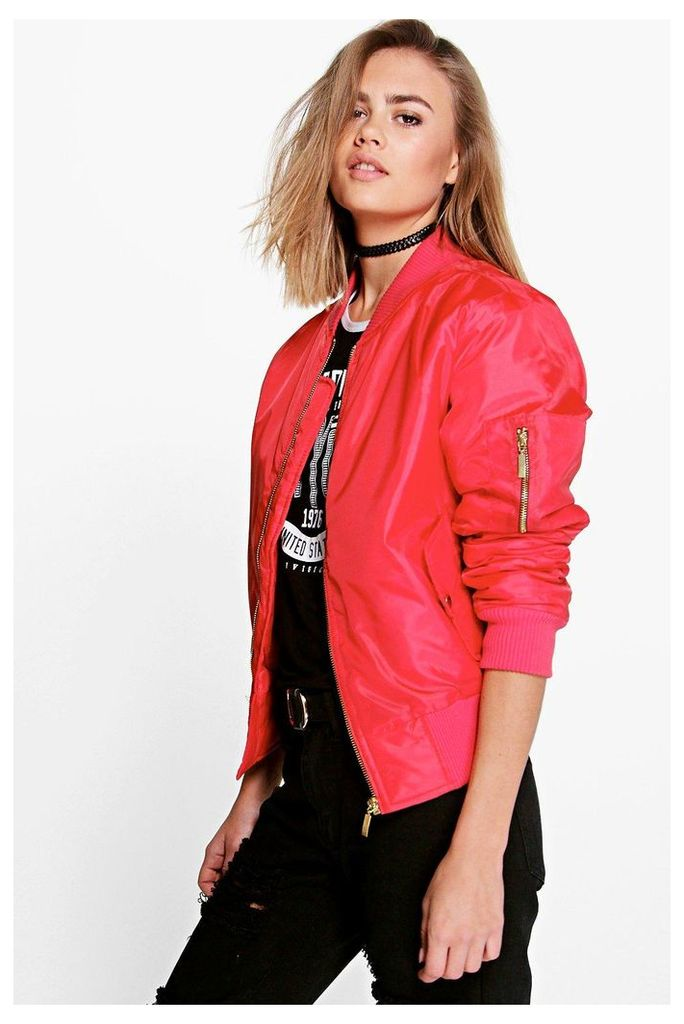 MA1 Bomber - red