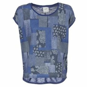 Vero Moda  OLIVIA  women's T shirt in Blue