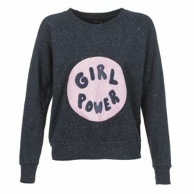 Eleven Paris  GIRL PATCH JP  women's Sweatshirt in Blue