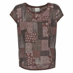 Vero Moda  OLIVIA  women's T shirt in Bordeaux