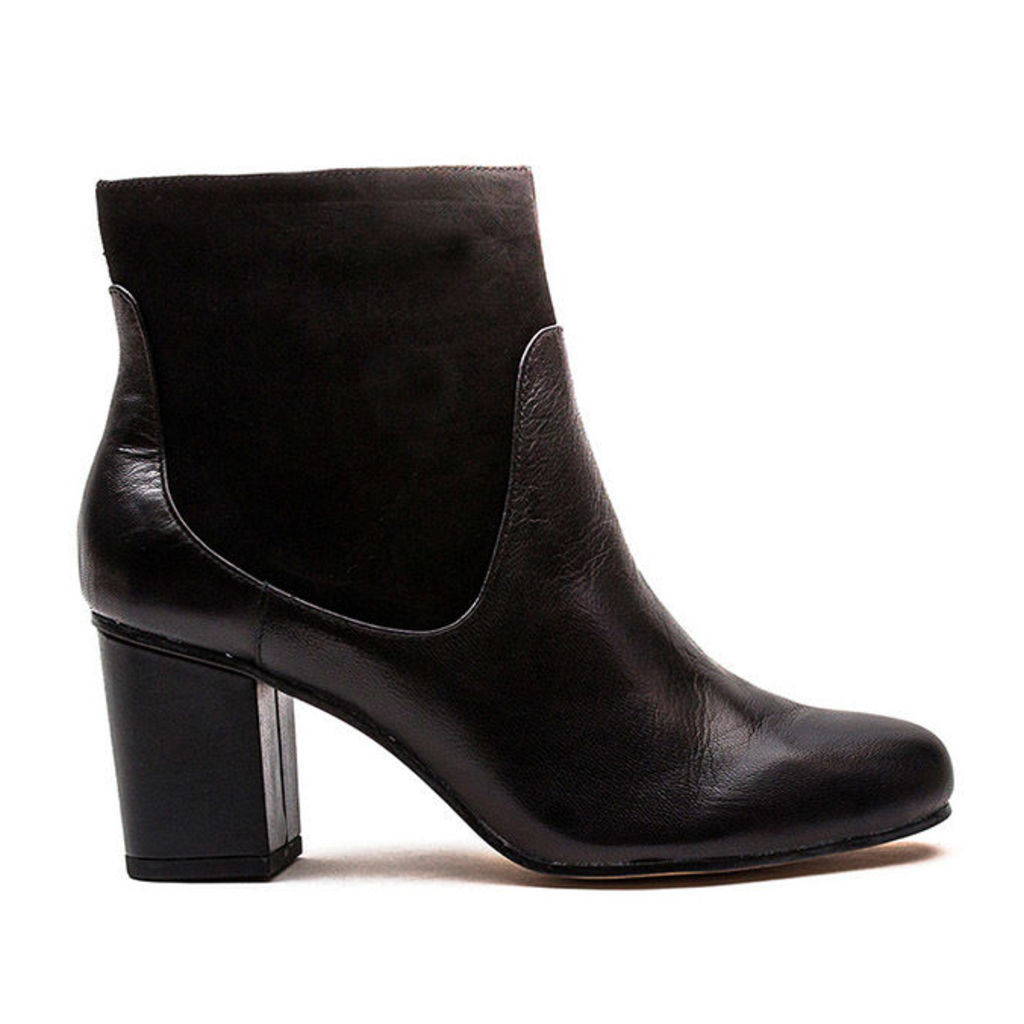 Clarks - Aldwych Wood - Black Combi Leather - 4 uk