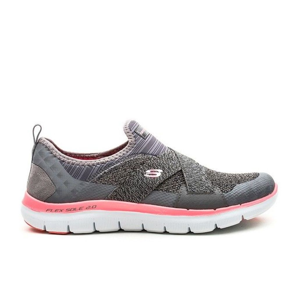 Skechers - Flex Appeal 2.0 - Charcoal - 8 uk