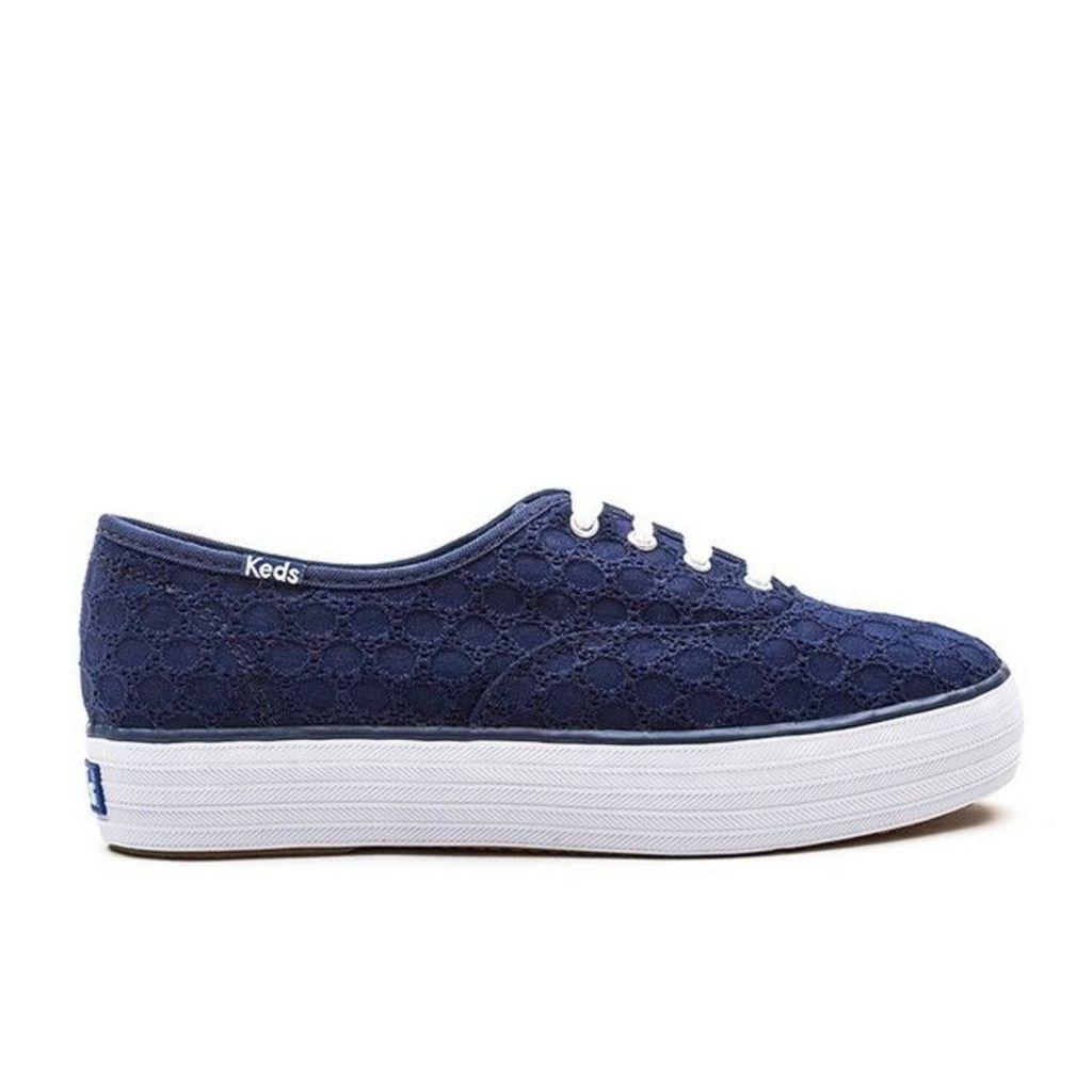 Keds - Triple Eyelet - Peacoat Navy - 6 uk