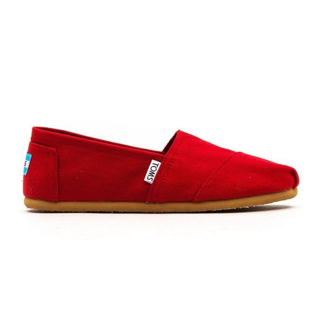Toms - Classics - Womens - Red - 4 uk
