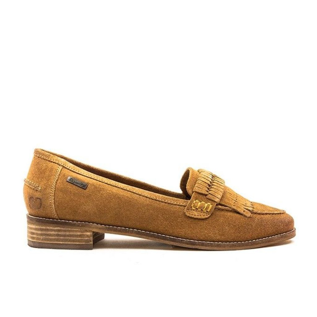 Superdry - Kilty Loafer - Tan - 4 uk