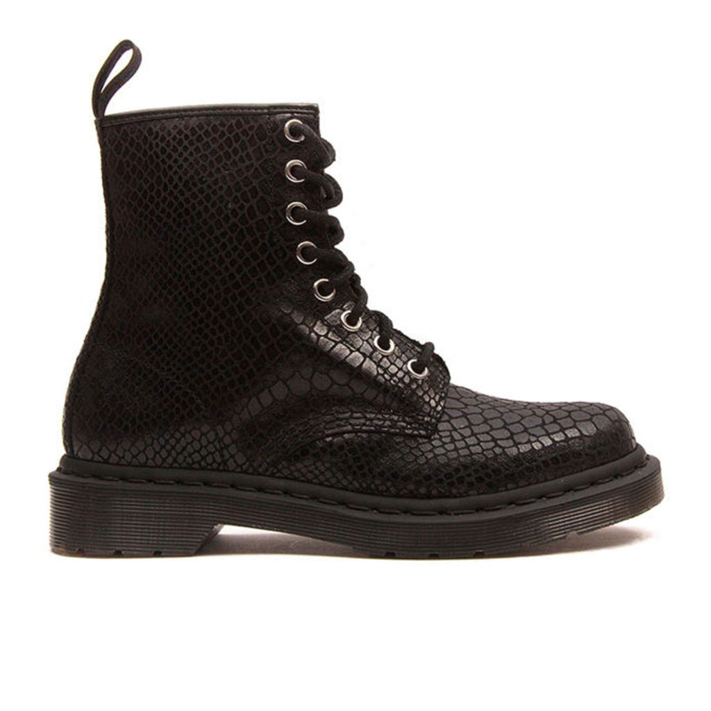 Dr Martens - 1460 Womens - Black Snake - 3 uk