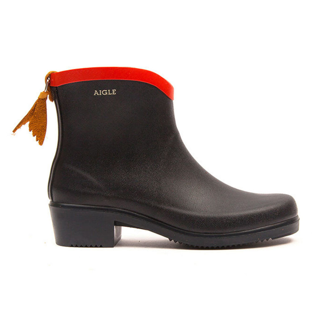 Aigle - Miss Juliette Bottillon - Marine / Rouge Bottillon - 5.5 uk