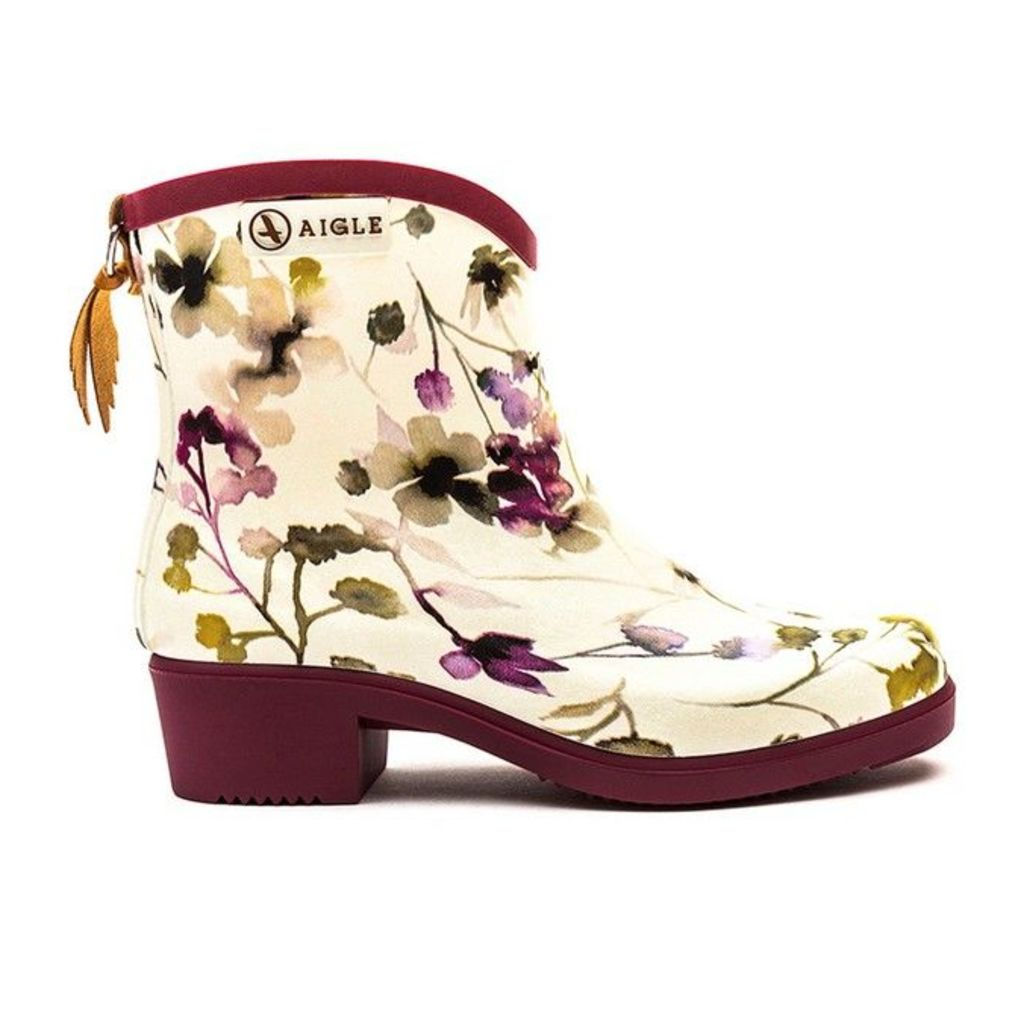 Aigle - Miss Juliette Bottillon Print - Wildflower - 7.5 uk