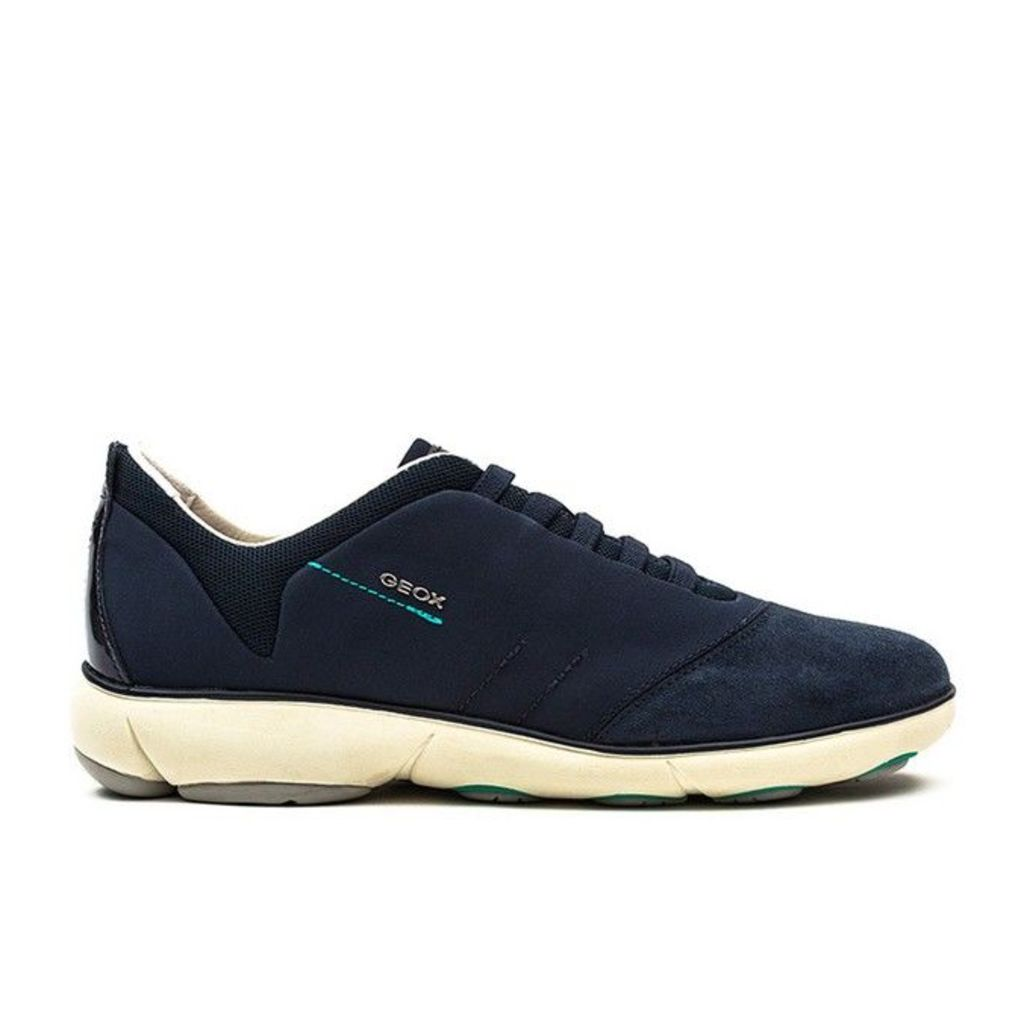 Geox - Nebula - Womens - Navy Textile/Suede - 4 uk