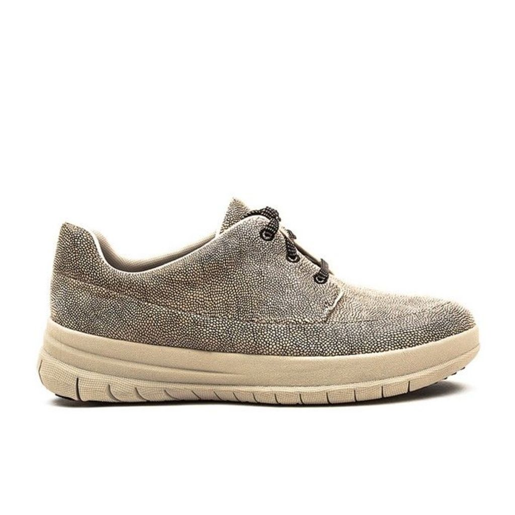 FitFlop� - Sporty-Pop� Sneaker - Stone Pebbleprint Leather - 6 uk