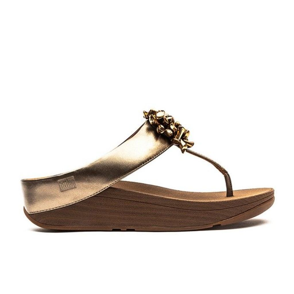 FitFlop� - Blossom� II - Bronze Leather - 5 uk