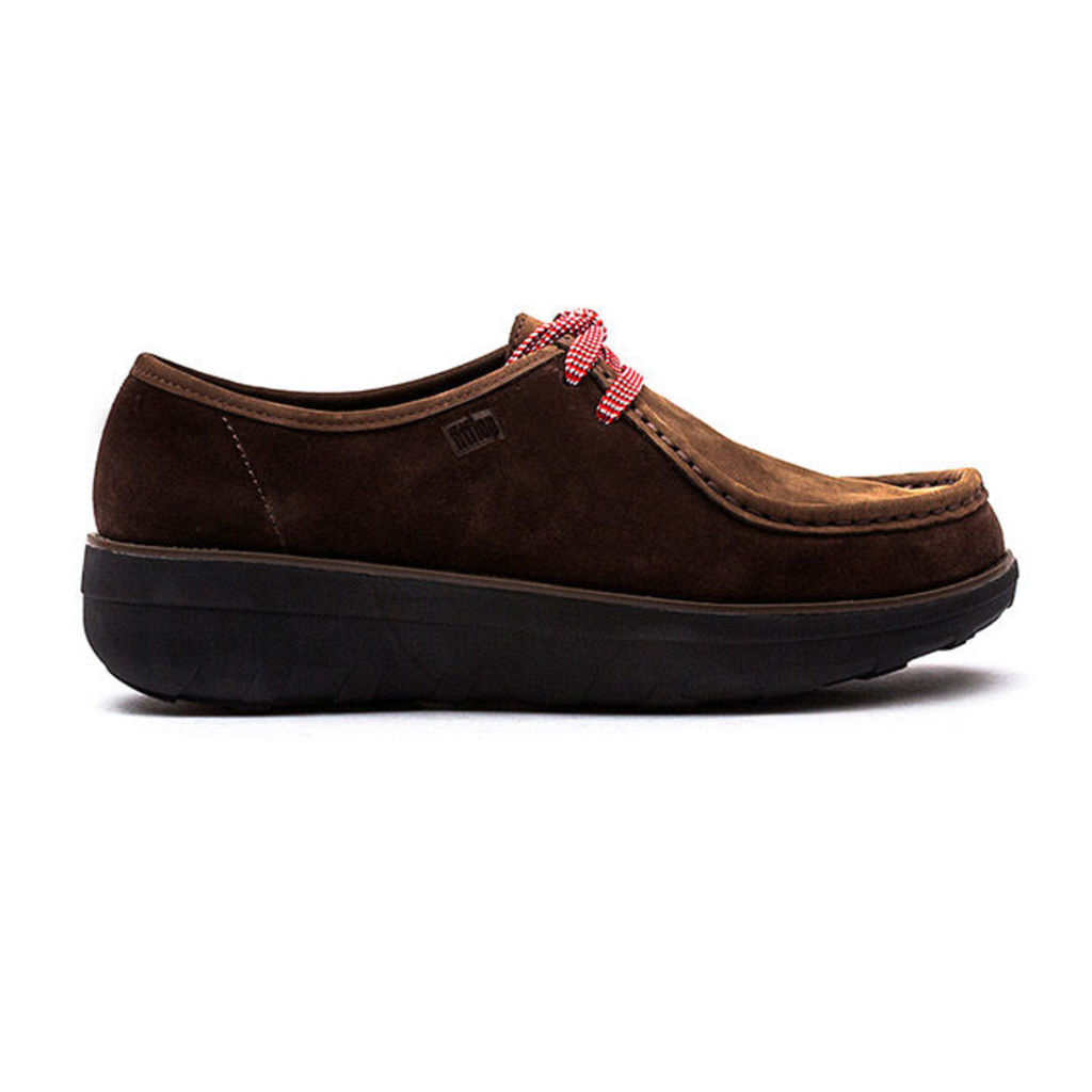 FitFlop� - Loaff� Lace Up Moc - Chocolate Brown - 7 uk