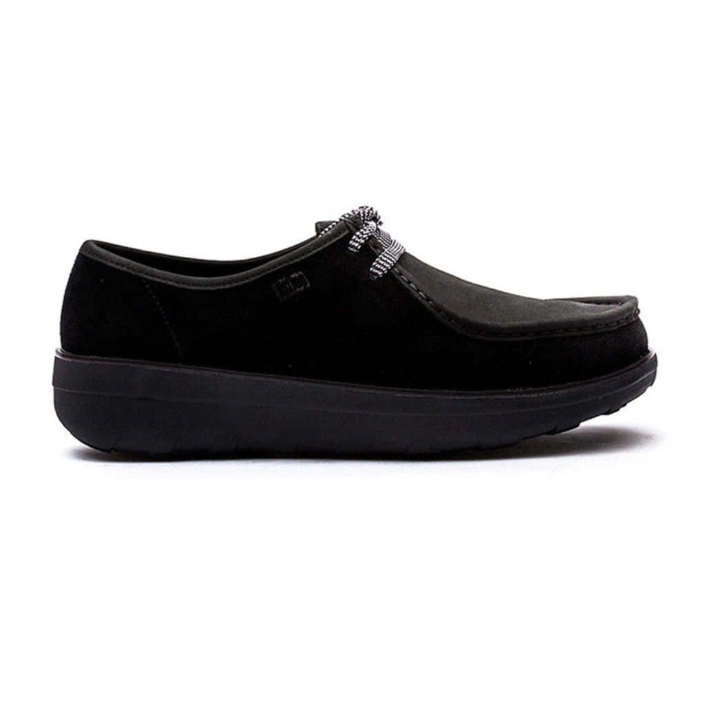 FitFlop� - Loaff� Lace Up Moc - Black - 6 uk