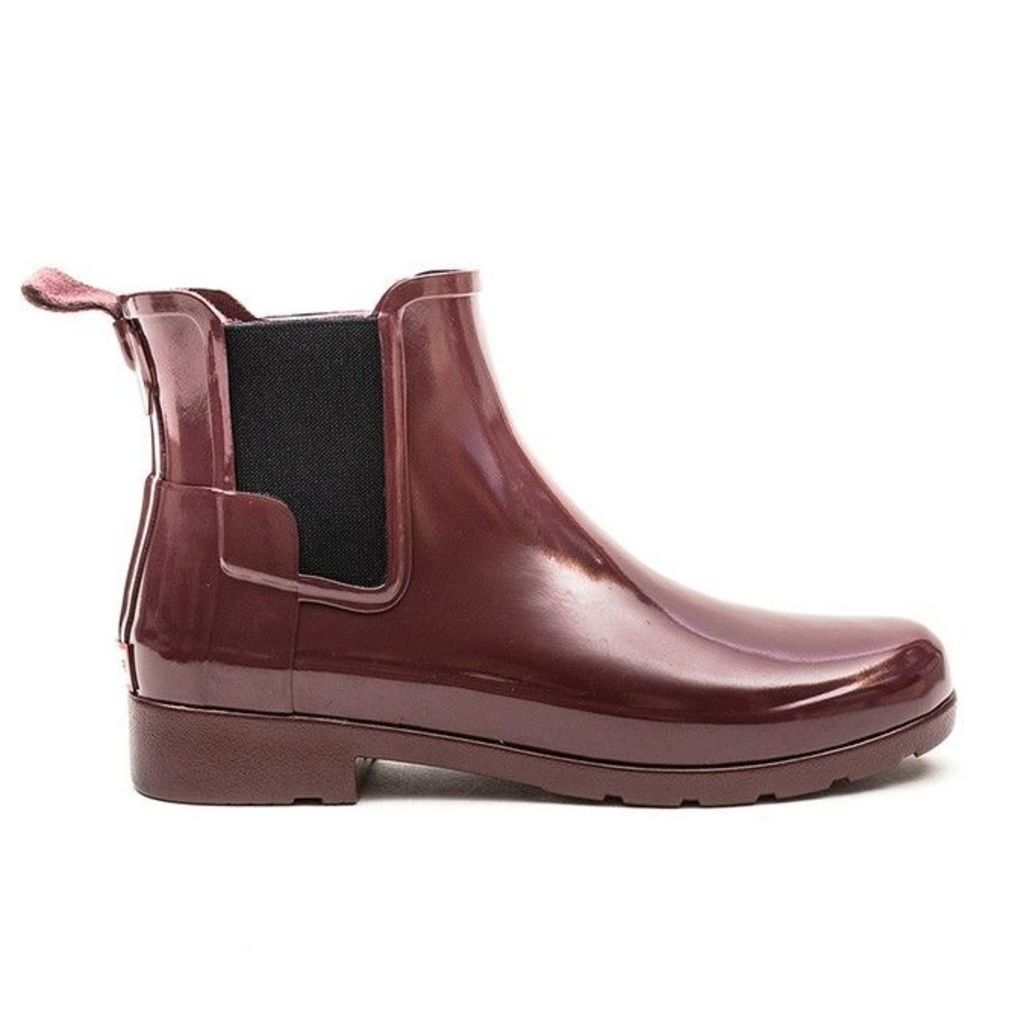 Hunter Wellies - Original Refined Chelsea Gloss - Dulse - 7 uk