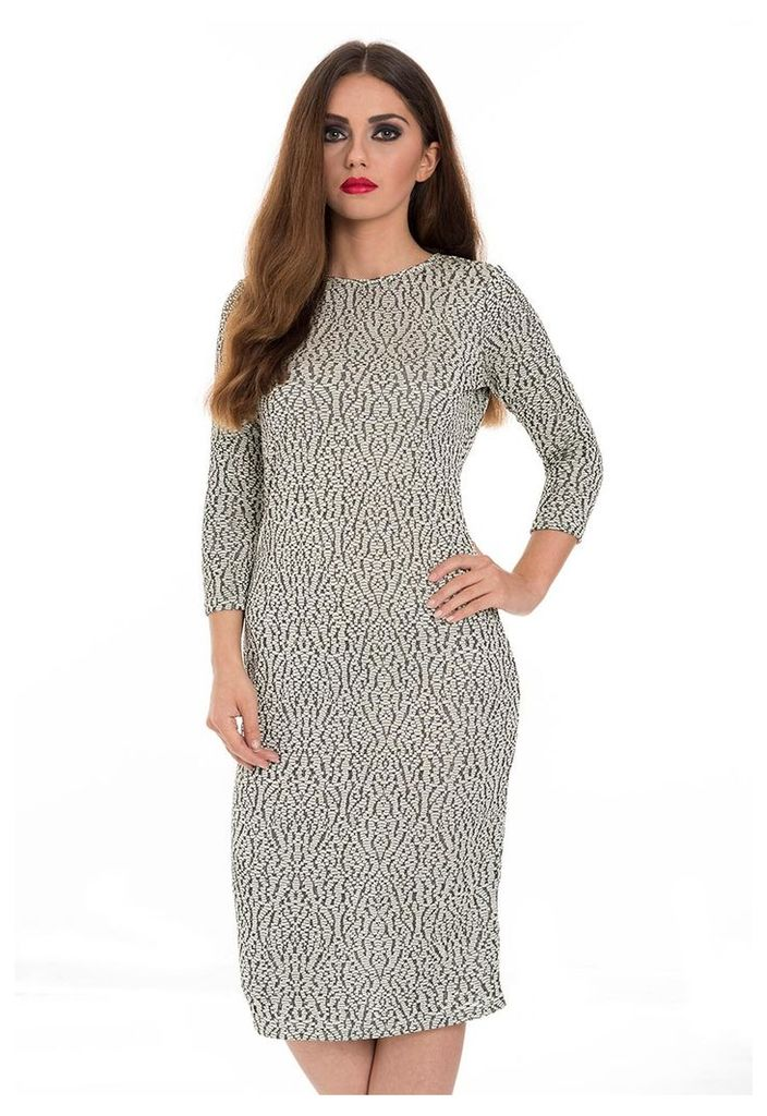 Metallic Knit Dress-14