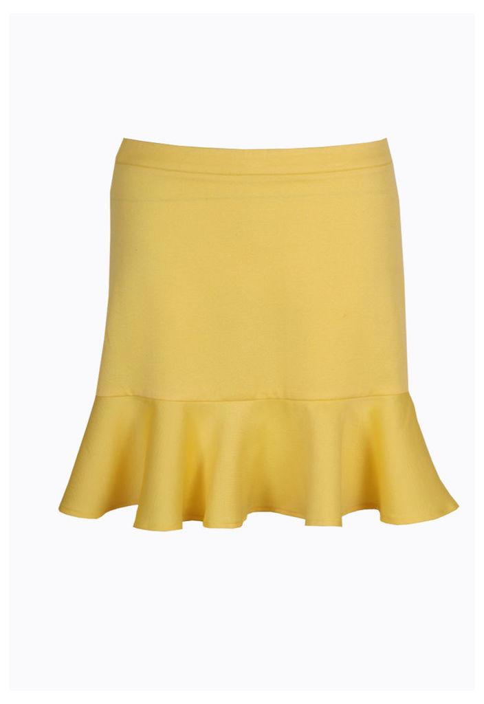 Madam Rage Neon Peplum Skirt-14