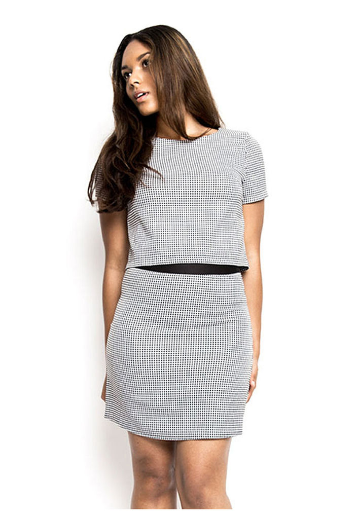 Madam Rage Dogtooth Skirt-10