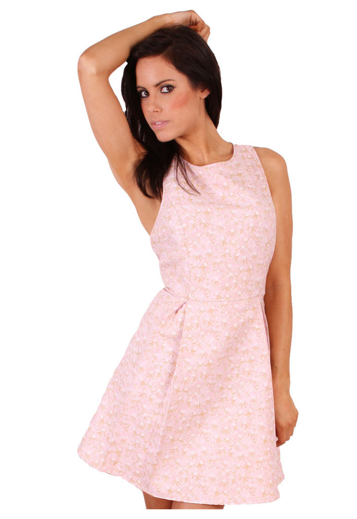 Madam Rage jacquard skater dress-14
