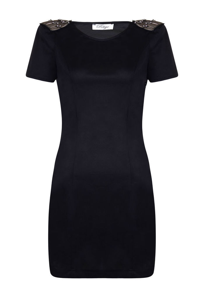 Madam Rage Shoulder Detail dress-16