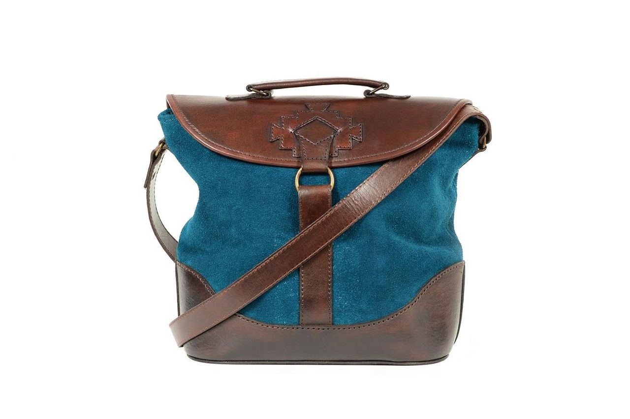 LUCILE SUEDE TEAL