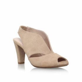Carvela Comfort Arabella - Nude Mid Heel Court Shoes