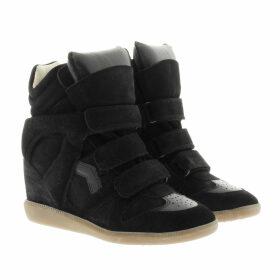 Isabel Marant Étoile Sneakers - Bekett Sneaker Suede Black - black - Sneakers for ladies