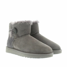 UGG Boots & Booties - W Mini Bailey Button II Grey - grey - Boots & Booties for ladies
