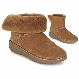 FitFlop  SUPERCUSH MUKLOAFF SHORTY  women's Mid Boots in Brown