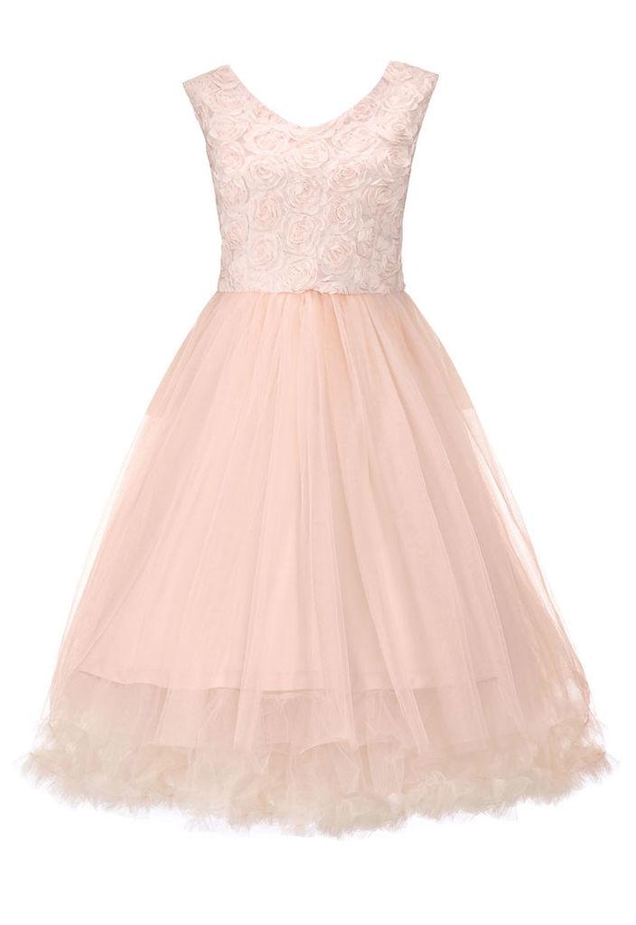 Lindy Bop Anais Dress in Parfait Pink