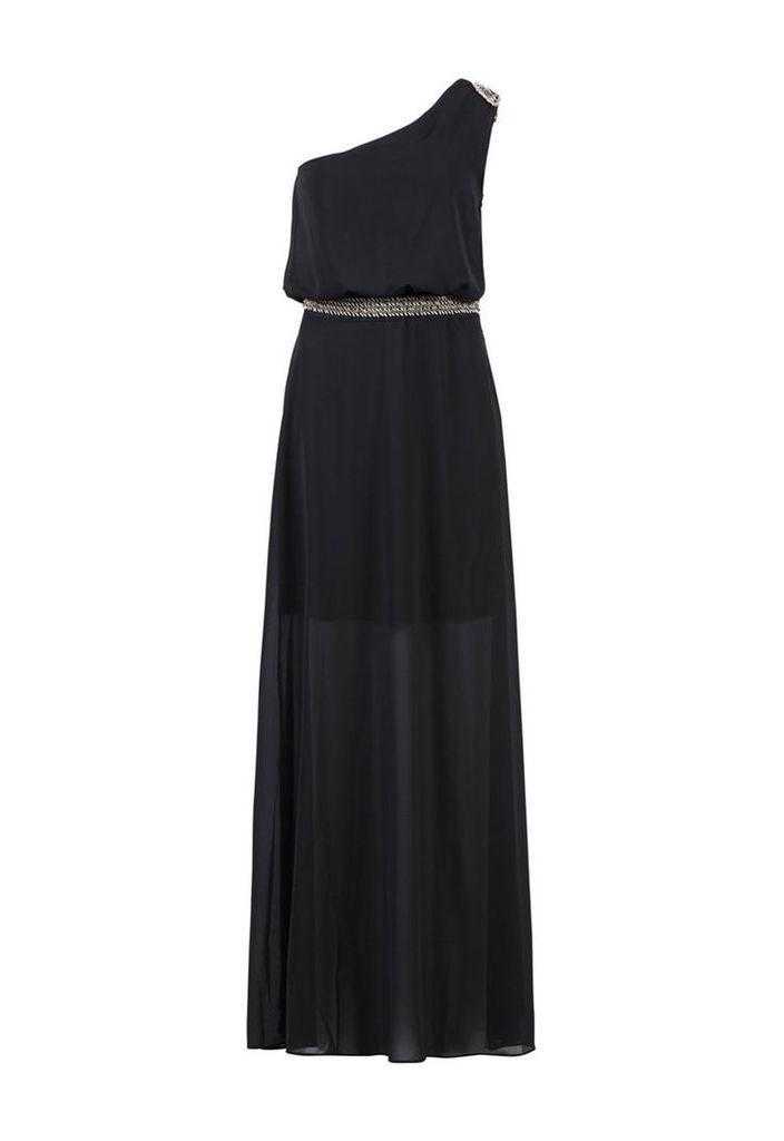 Zibi London Maxi One Shoulder Dress
