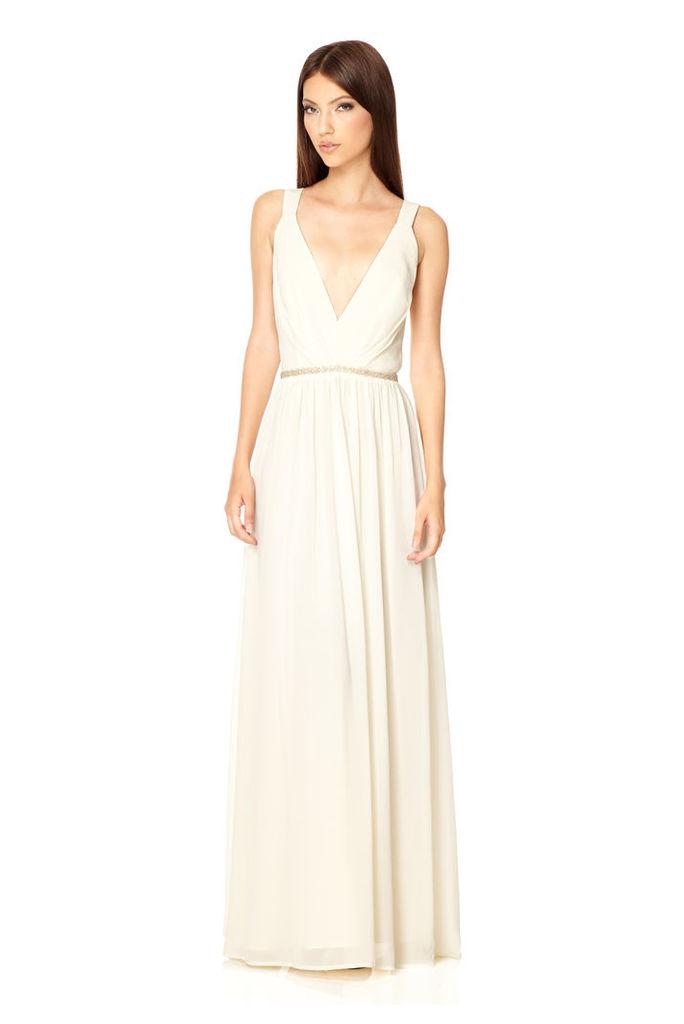 Jarlo London Cristobel Dress in Ivory