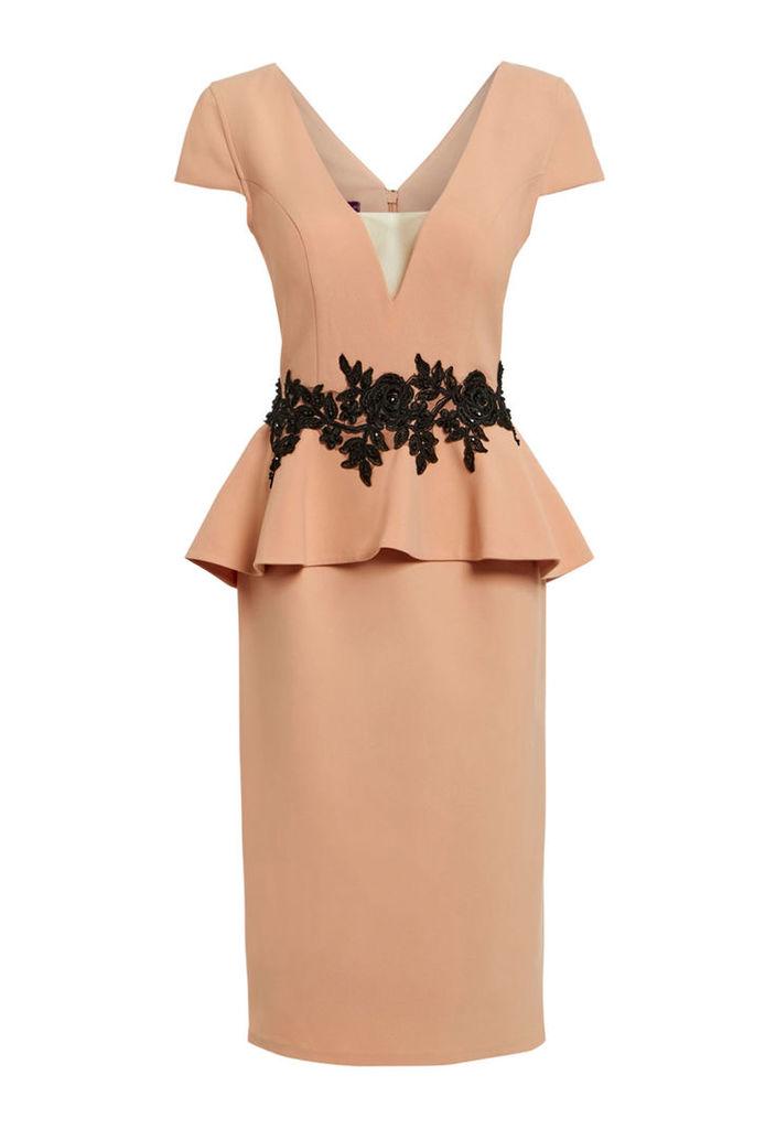 Nataliya Couture Grace Dress in Blush