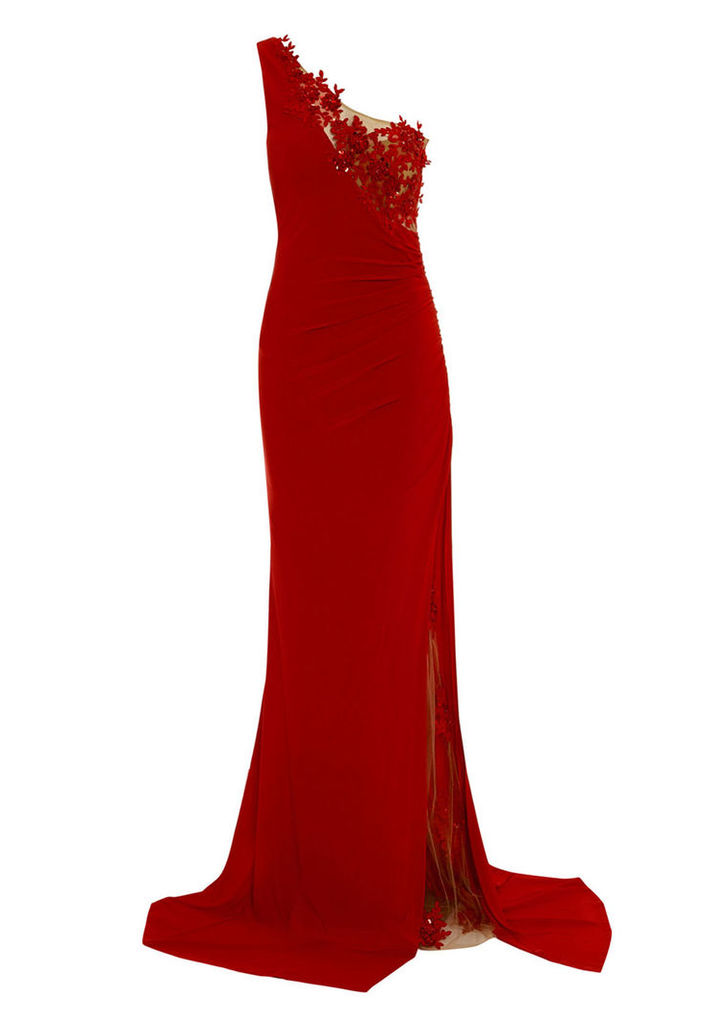 Nataliya Couture Anna Dress in Red
