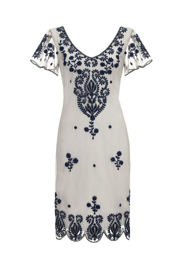 Gatsbylady Lillian Grey Flapper Dress