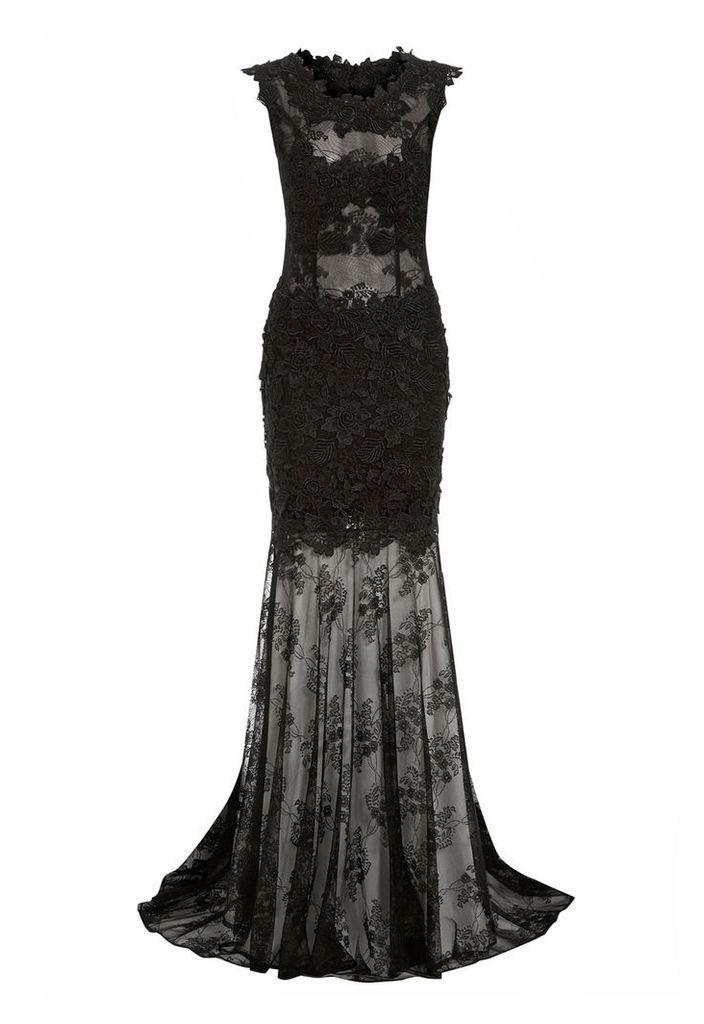 Nataliya Couture Alexandra Dress in Black