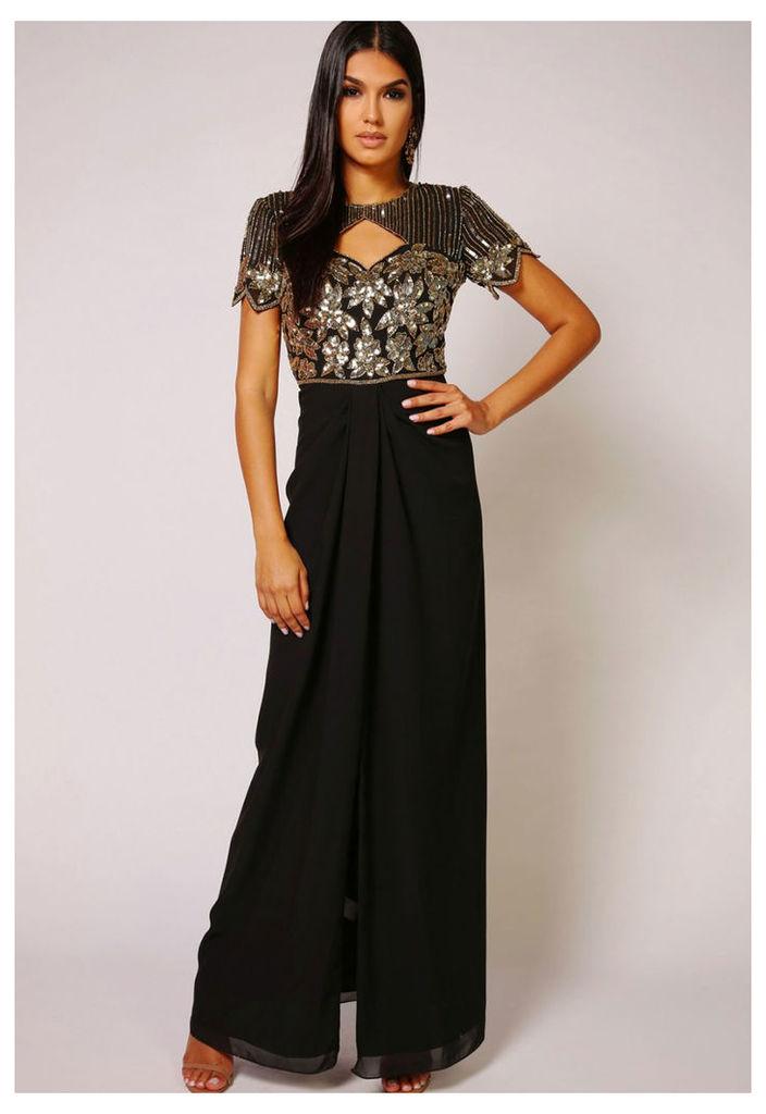 Virgos Lounge Helena Dress in Black