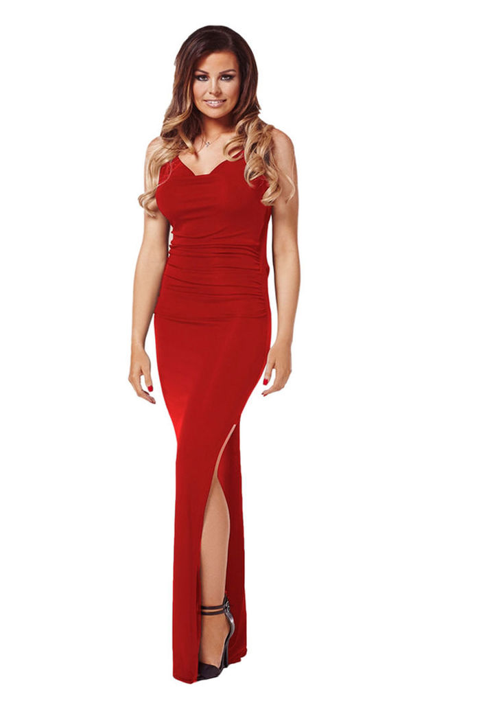 Lipstick Boutique Audrina In Red